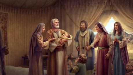 Isaac is born